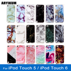 ARYIKUM Cell Phone Case For Apple iPod Touch 5 5g Soft Silicone Mandala Marble Cover Coque For iPod Touch 6 Touch6 Funda etui
