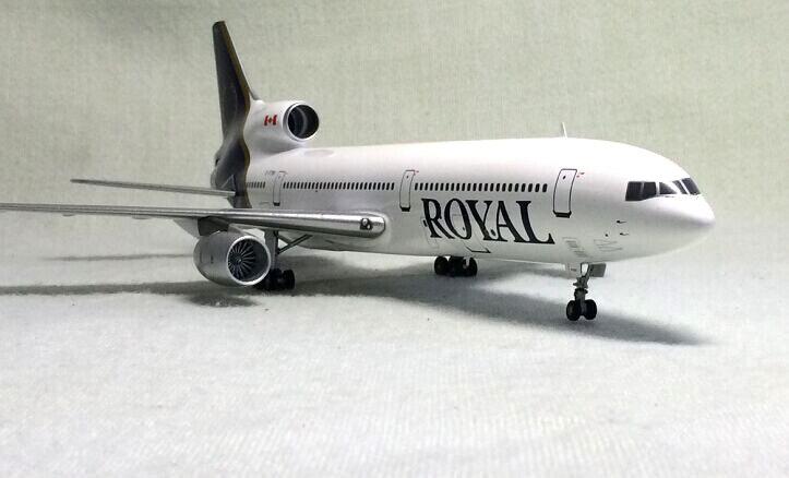 Inflight 200 1: 200 Lockheed L-1011 Royal Canadian aviation aircraft model alloy c-ftni Limited Collector Model new phoenix 11207 b777 300er pk gii 1 400 skyteam aviation indonesia commercial jetliners plane model hobby