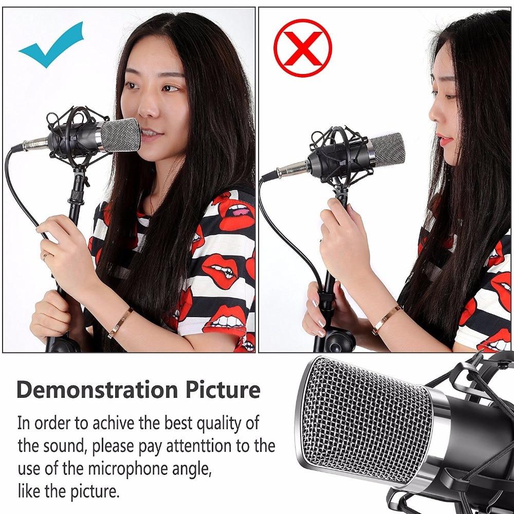 NeWer NW-700 микротелефоны және NW-35 тірек - Портативті аудио және бейне - фото 3