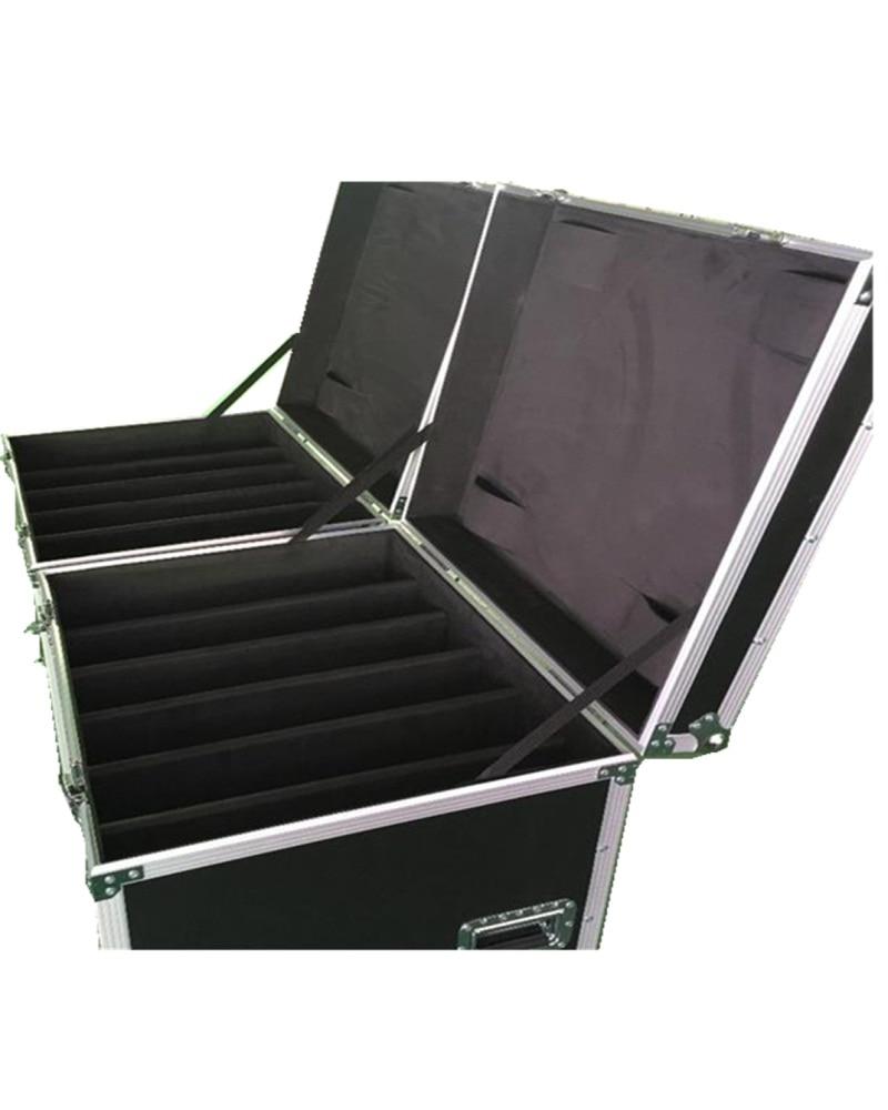 P4 and P8 Flight Case 512mmX512mm aluminium die casting cabinet 1 Pack 6 or 1 pack 8 flight case