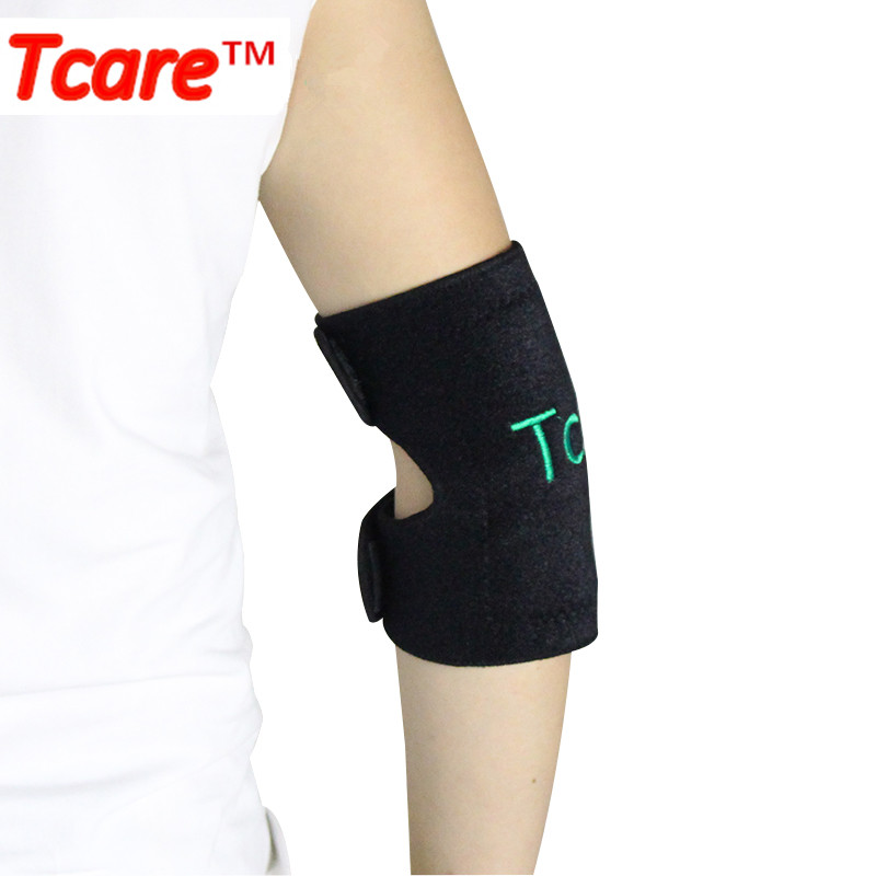 Tcare Health Care Tourmaline Self-heating Elbow Brace Elbow Pads Massager Magnetic Therapy Elebow Protector