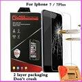 Protector de pantalla de cine para el iphone 7 4.7 iphone7/7 más 7 más 5.5 polarizador película protectora de protección de vidrio templado 2.5d 9 h