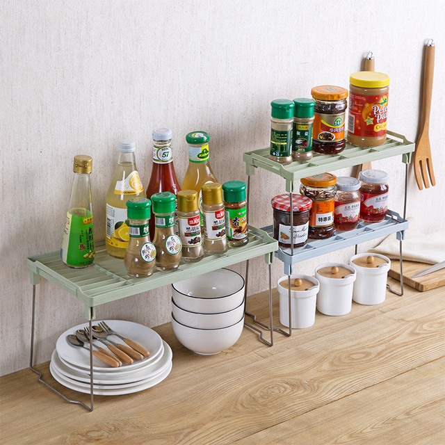 folding stuffer kitchenware condiment storage shelf kitchen