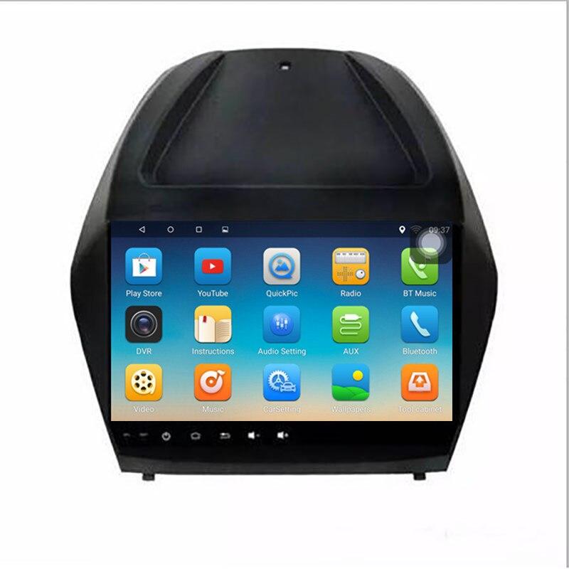 ChoGath 1G RAM 16G ROM 9 pouces Android 8.0 1024*600 pour HYUNDAI IX35 TUCSON avec Audio WIFI, commande de roue de direction de soutien, cartes