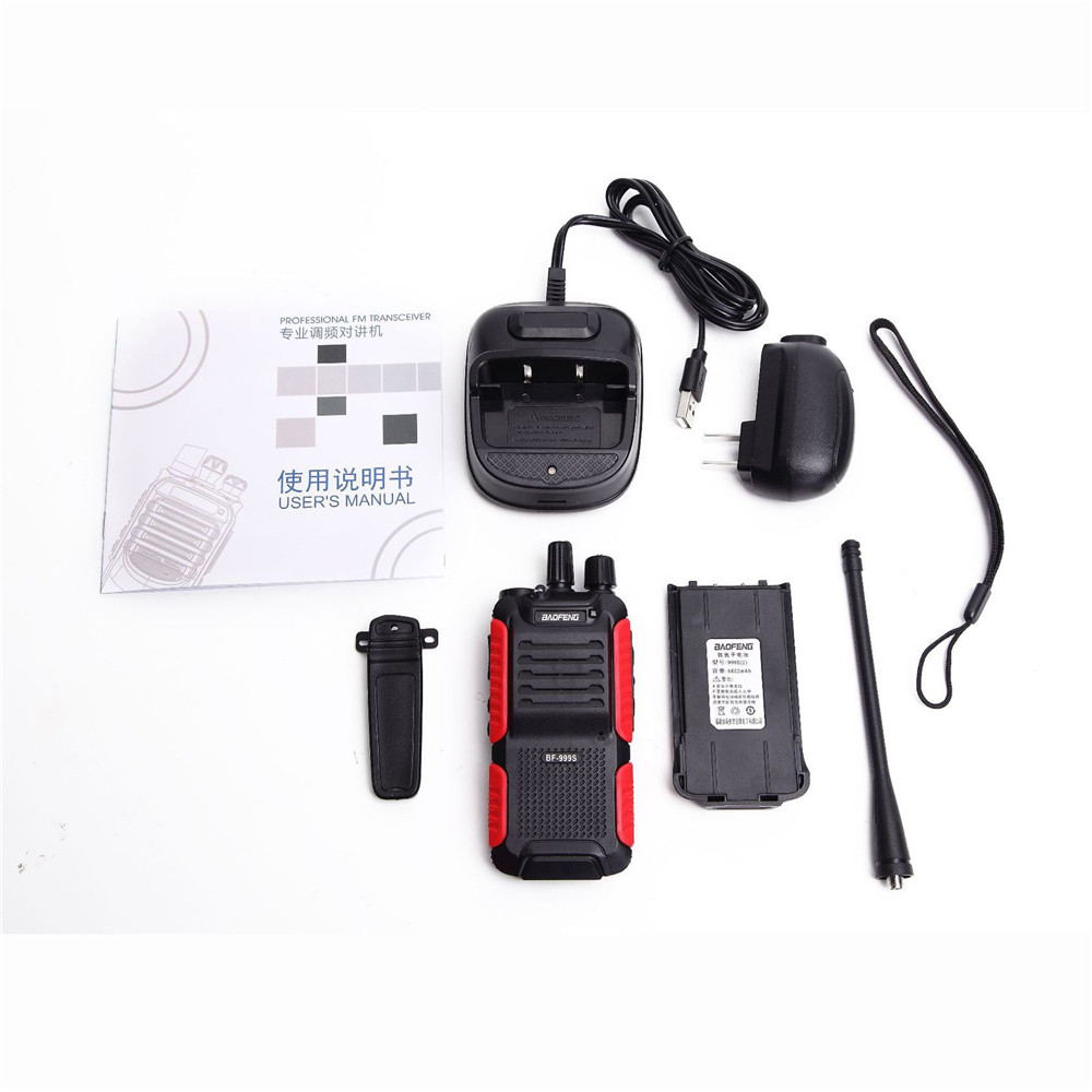 Image 5 - Baofeng BF 999S Walkie talkie 888s Upgrade Version Mini Wireless Civilian Portable Self driving Tour Security Walkie talkie-in Walkie Talkie from Cellphones & Telecommunications