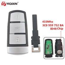 Дистанционный Автомобильный ключ yiqixin 3 кнопки БЕСКЛЮЧЕВОЙ