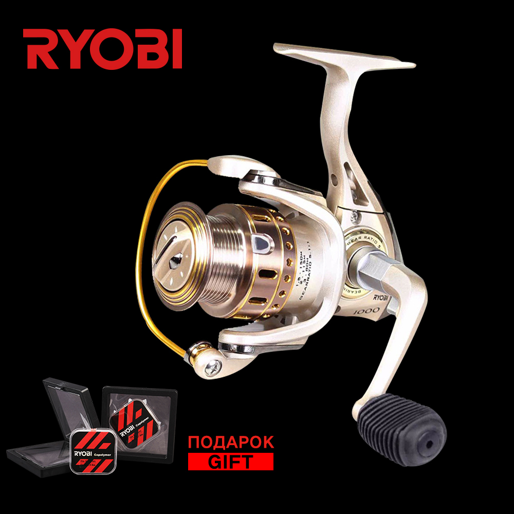 RYOBI TRESOR 1000 2000 3000 4000 5 Bearing Reel Quick Set Original Aluminium Spool Saltwater Fishing