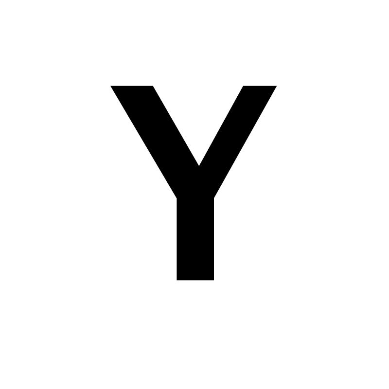 Унисекс, золото, серебро, цвет, A-Z, 26 букв, первоначальное имя, кольца для мужчин и женщин, геометрический сплав, креативные кольца на палец, ювелирные изделия - Цвет основного камня: Y