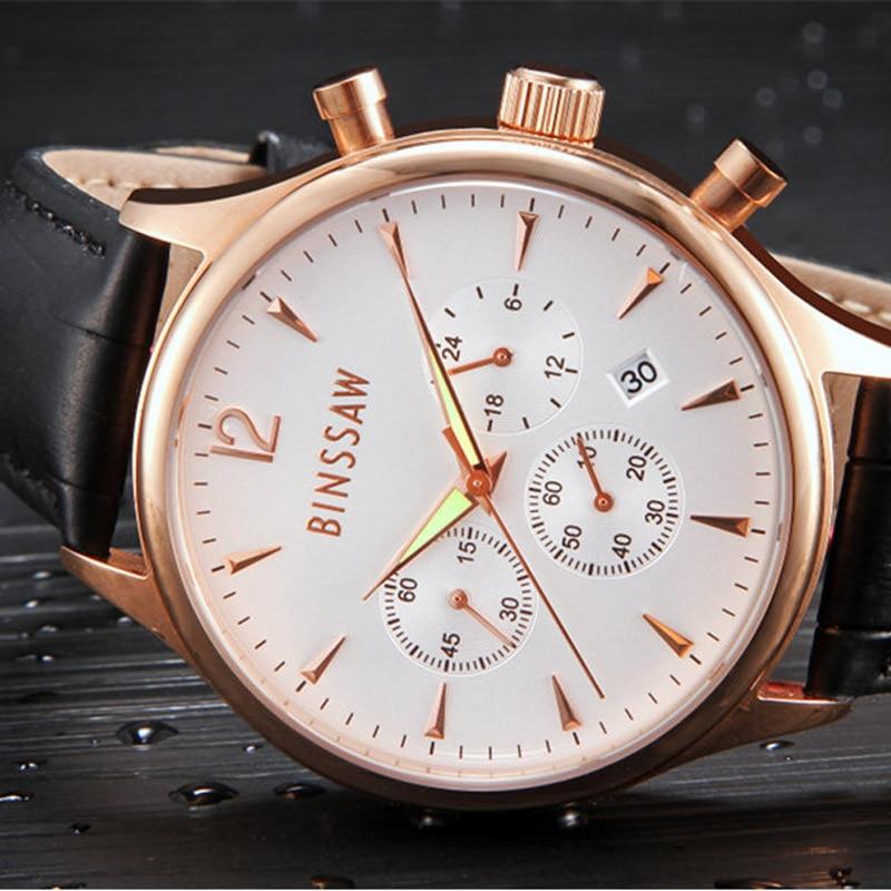 Relojes de lujo para hombre Top Brand BINSSAW 2016 Nuevos hombres de - Relojes para hombres - foto 2