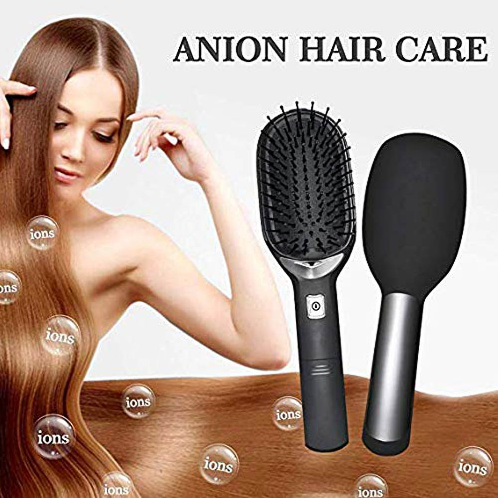 Upgrade Electric Negative Ionic Hair Brush With Handle Magic Anti static Hairbrush Massage Comb Smooth Hair Comb Styling Tools 5