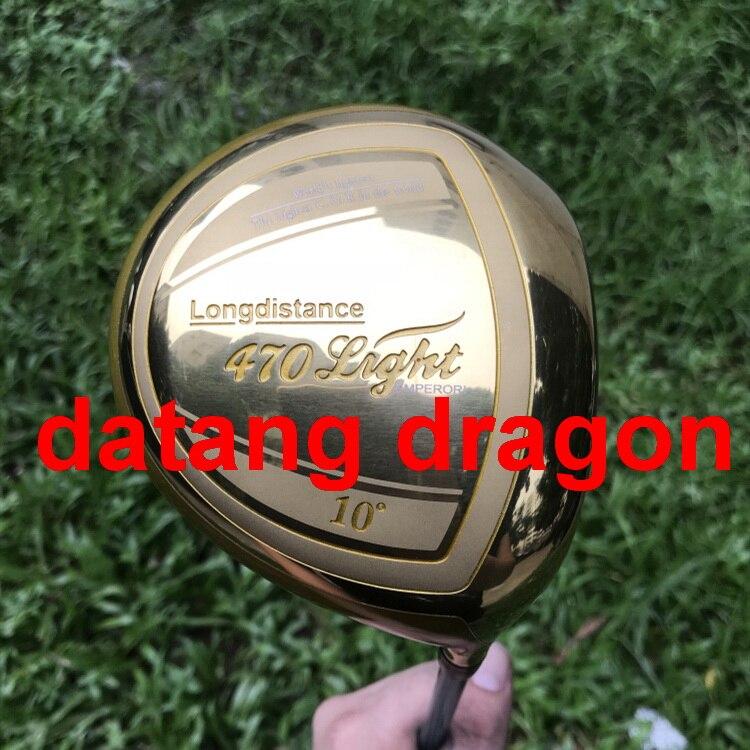 datang dragon golf driver Big Bang Long distance 470 driver with TourAD TP6 stiff shaft headcover golf clubs