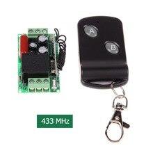 جديد 220 فولت 315 ميجا هرتز/433 ميجا هرتز مفتاح تحكم عن بعد صغير مع 2 زر التحكم عن بعد uzaktan kumanda الاتصالات السلكية واللاسلكية