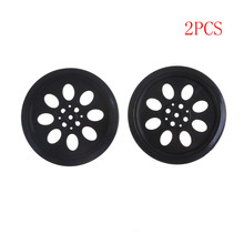 Rubber Hub  Hole Wheels Tire DIY Toy Model Accessories For Line Patrol Car Smart Car Robot RC Car Part Accessories