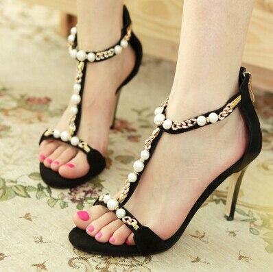 Aliexpress.com : Buy NEW 2015 fashion women's high heel sandals ...