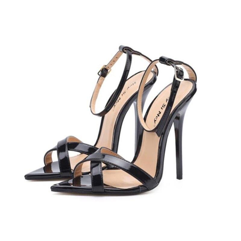 40 Pompes Femmes Or Banquet Partie Plus rouge Dames Talon Cm 48 Chaussures 14 Bas 49 Sandales Zapatos Sexy Mince blanc Noir Mariage Mujer Hsm De Stiletto vqZY0qR