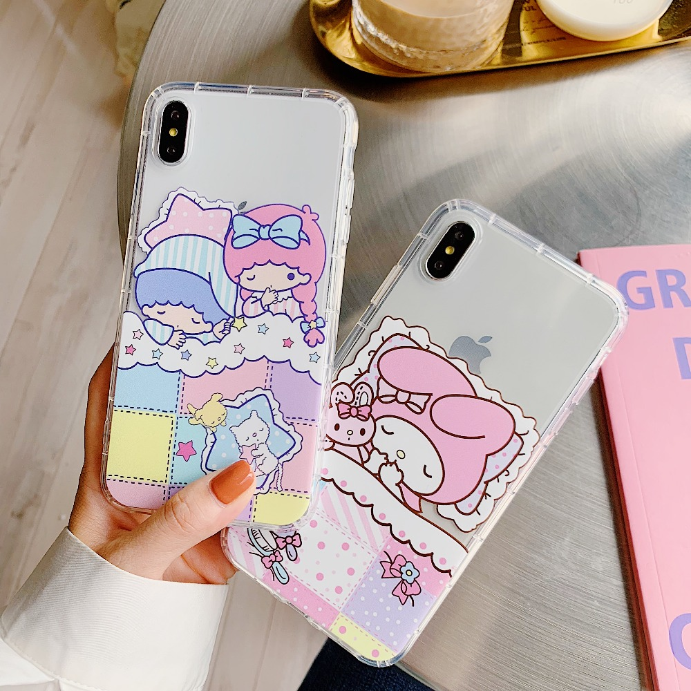 Cinnamoroll Pom Pom Purin Dog Melody Clear Soft Tpu Silicone Cover Case For I Phone Xs Max Xr X 6 6 S 7 8 Plus by Phetron