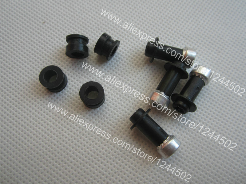 Compatible new Ink Tubes Supply System Assembly nozzle for HP 1050 4000 4500 5000 5100 5500 5 pcs per lot