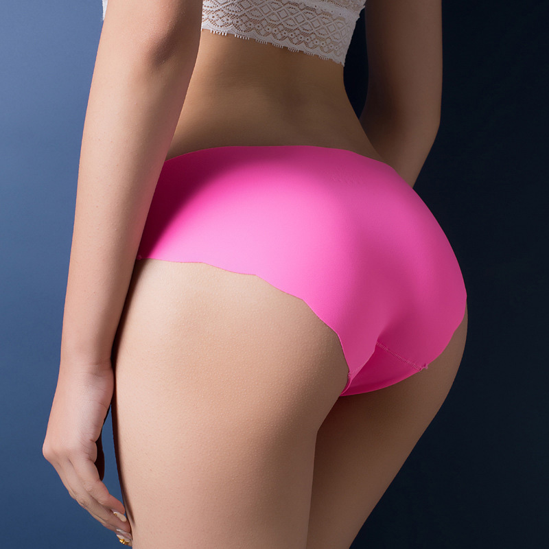 Hot Sale 2017 Ice Silk Women Seamless Ultra-thin Underwear G String Women's Panties Intimates Bragas Mujer Interior Candy Briefs