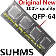 (2 חתיכה) 100% חדש MC68HC908AZ60CFU 2J74Y MC68HC908AZ60 QFP 64 ערכת שבבים