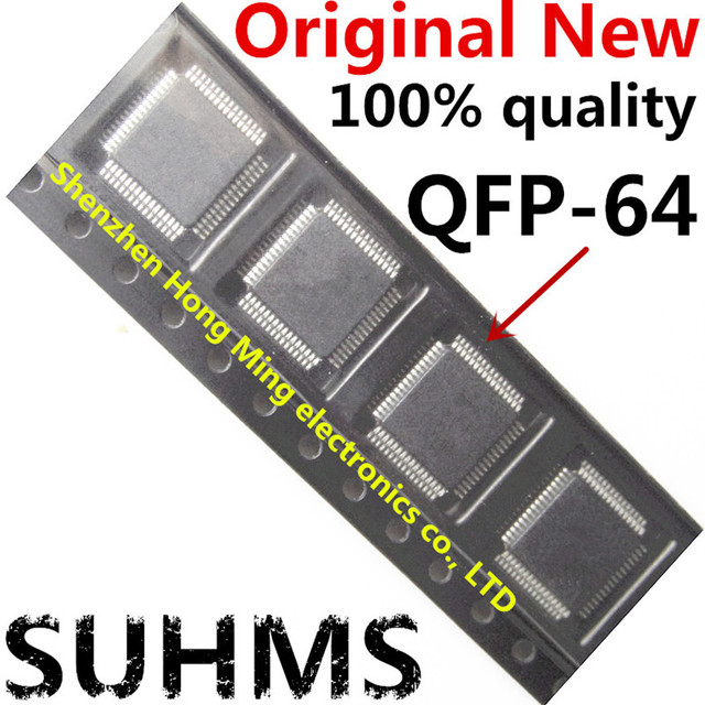 (2 pièces) 100% nouveau Chipset 2J74Y MC68HC908AZ60 QFP 64 jeu de puces