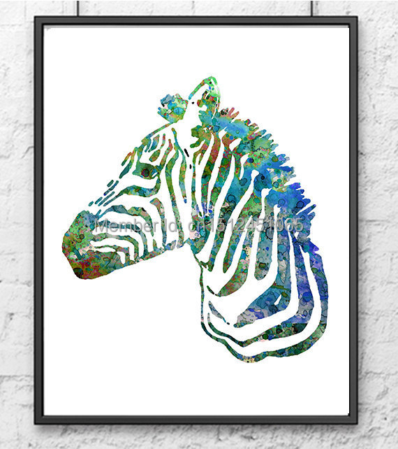Zebra Wall Art compare prices on zebra wall art- online shopping/buy low price