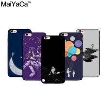 Astronaut cell phone caseTPU case for iphone5 5s 5c 6 6S 6Plus 6S Plus 7 7Plus