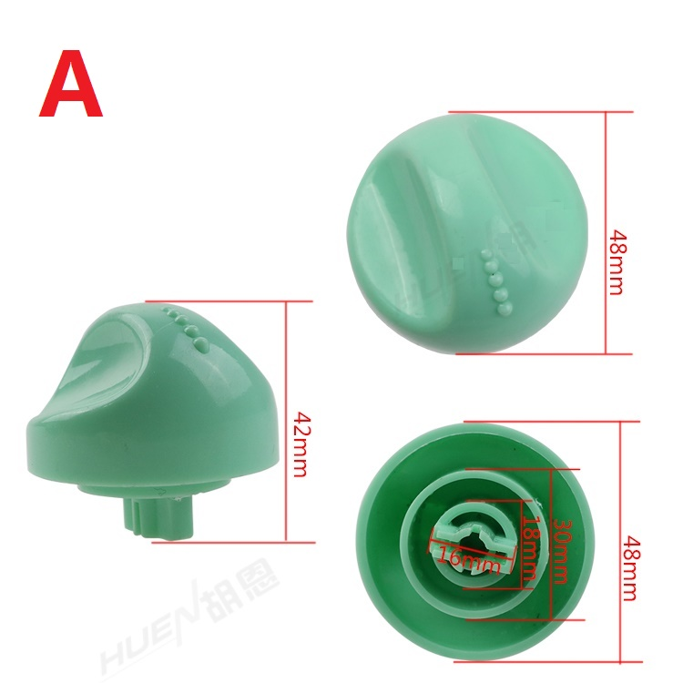 Washing machine Drain switch accessories knob switch  washing machine timer knob universal timer switch knob double barrel washing machine