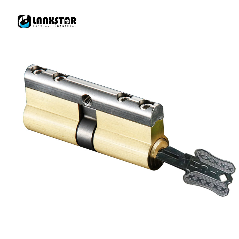 C Grade Copper Lock Core 6Keys Anti-theft Lock Cylinder Security Locking Cylinders 70mm 75mm 80mm 85mm 90mm Anti-theft Lockset anti theft door lock c grade copper locking cylinder security lock core cylinders key 70mm 90mm door cylinder lock with 6 keys