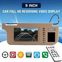 Vehemo 7 TFT LCD Sunvisor View Monitor DVD/VCD/GPS/TV Screen Car Sun Visor Monitor Durable Rear View Camera Car DVD Monitor