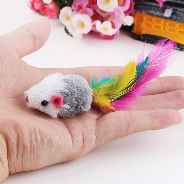 Soft Fleece Mouse Toy For Cats