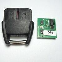جديد 2 زر التحكم سيارة مفتاح بعيد لأوبل/gm 433.92 ميجا هرتز OP4 ممتازة الجودة shippinhg المجانية