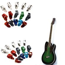 15pcs Colorful Finger Picks Plectrum Guitar Finger Picks Guitar Thumb Picks ibanez pa16xr bk picks