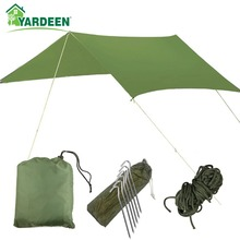 Hammock Waterproof Tent Canopy Outdoor 3m--3m Sunshade Rain-Protection Picnic-Cloth Multi-Function