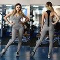 2 peça set mulheres terno para roupas de fitness workout outfit dois piece set top legging conjunto de roupas roupas de ginástica feminina trabalhar fora 896