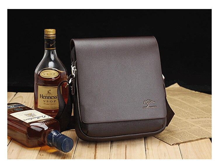 HTB1BXZpSzTpK1RjSZKPq6y3UpXaa Designer Brand Kangaroo Briefcase Men Soft Leather Shoulder Travel Bag Business office Computer laptop bag Cover Messenger Bags