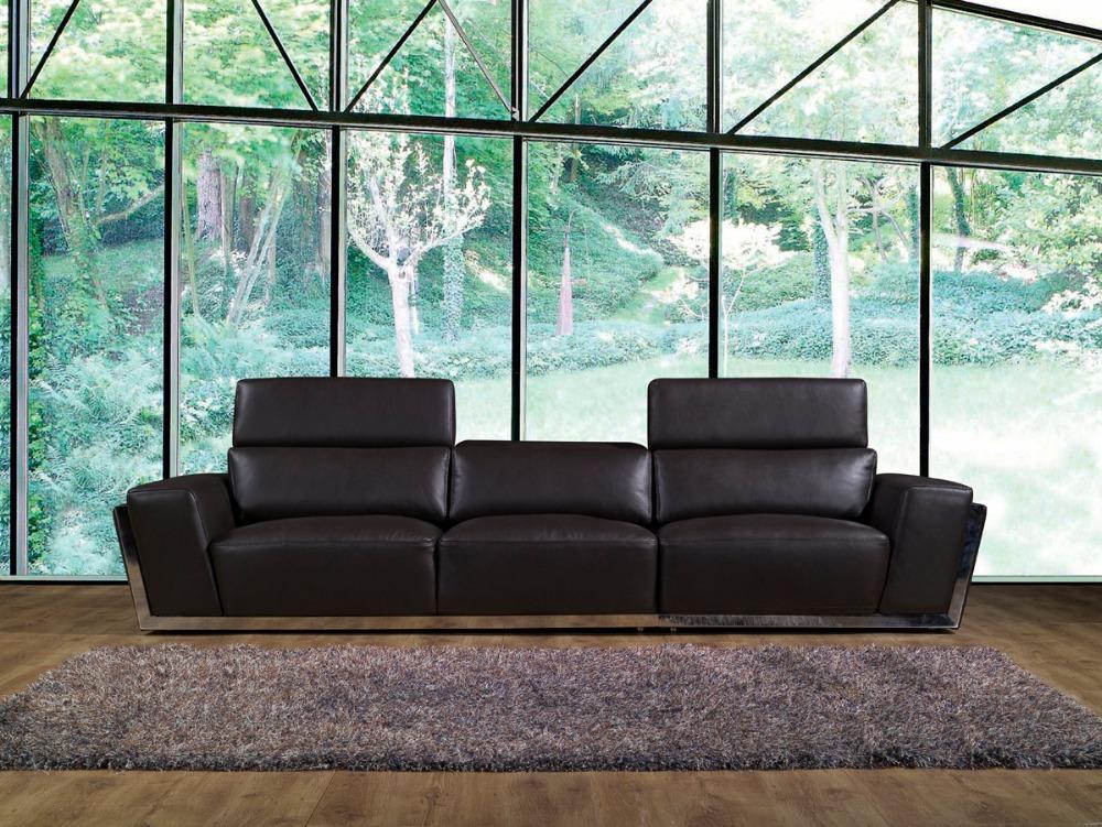 cuero de vaca genuino sof muebles juego de sala sof sofs sof de la sala