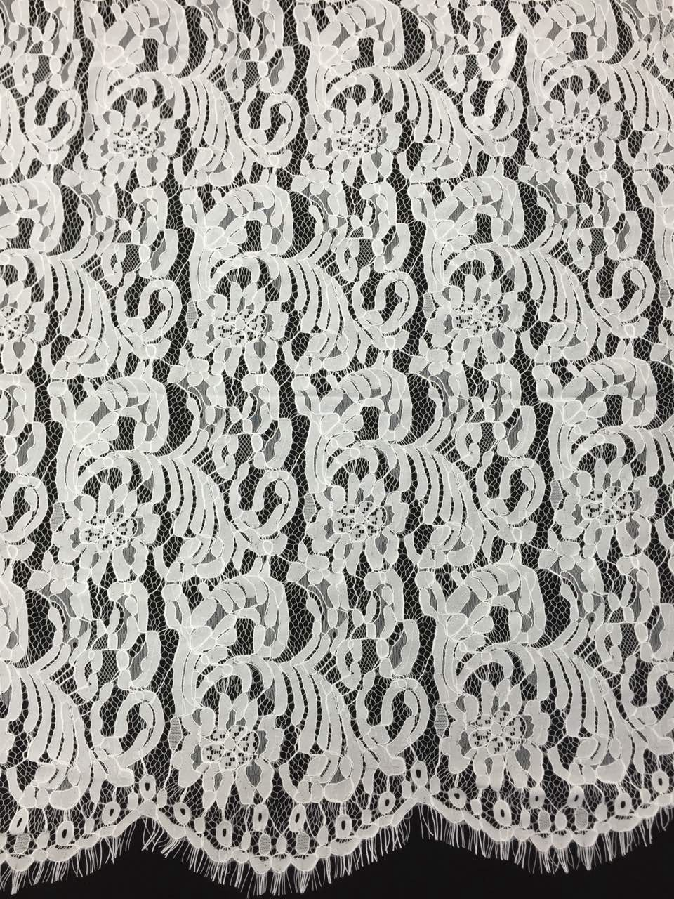QUEENS GOWN FORMAL DRESSES CO.,LTD 2015 Latest Embroidery Design African Ivory Lace Fabric for Wedding dress Guipure all over lace fabric synthetic lace front wig