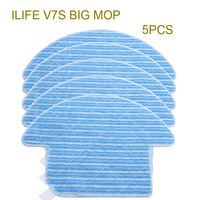 Original ILIFE V7S Mop Cloths 5 Pcs Of Robot Vacuum Cleaner Accessories From The Factory