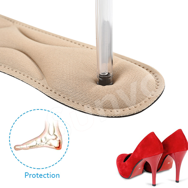 High Heels Shoes 4D Sponge Soft Support Insole