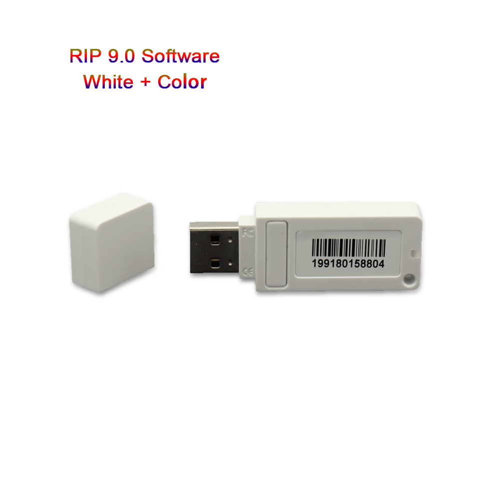 New AcroRIP Software For R1390 L805 T50 RIP White Ver9.0 Software With Lock Key Dongle For Epson UV Printer RIP Software