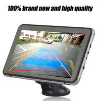 New Professional Automobile Car 800*480 Pixel GPS Navigation DVR Rear View Manually 350 Degree Rotation Navigator Hot Sale