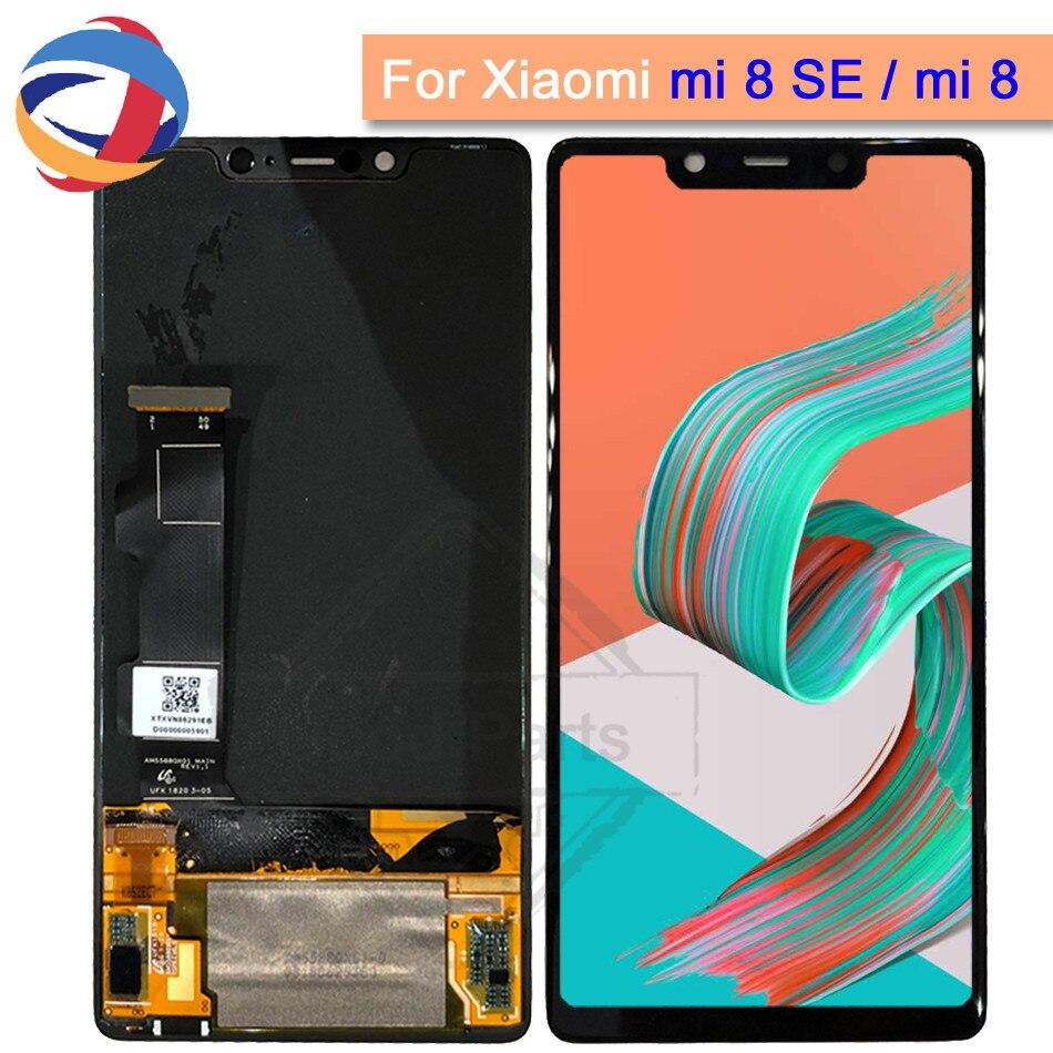 Super Amoled lcd For 5.88 Xiaomi Mi8 SE Mi 8 SE MI8SE Screen Display+Touch Screen Digitizer with Frame replacement Mi 8 se LcdSuper Amoled lcd For 5.88 Xiaomi Mi8 SE Mi 8 SE MI8SE Screen Display+Touch Screen Digitizer with Frame replacement Mi 8 se Lcd