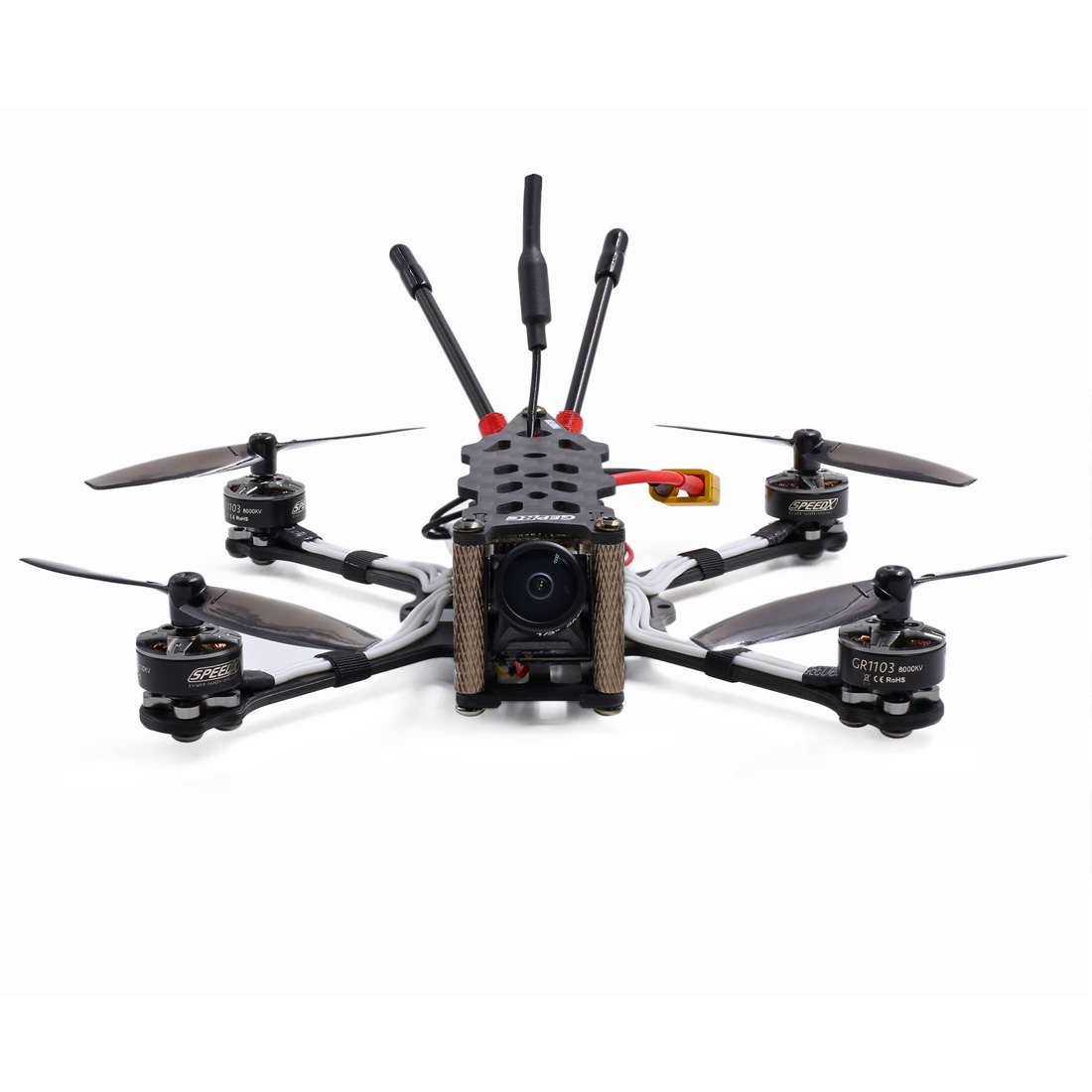GEPRC PHANTOM Toothpick 125mm 2 3S Micro Drone Freestyle Quadcopter with Frsky XM RX GEP 12A F4 AIO Flight Controller in Parts Accessories from Toys Hobbies