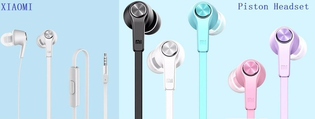 Original Xiaomi Piston Colorful Version In Ear Earphone Earbuds For
