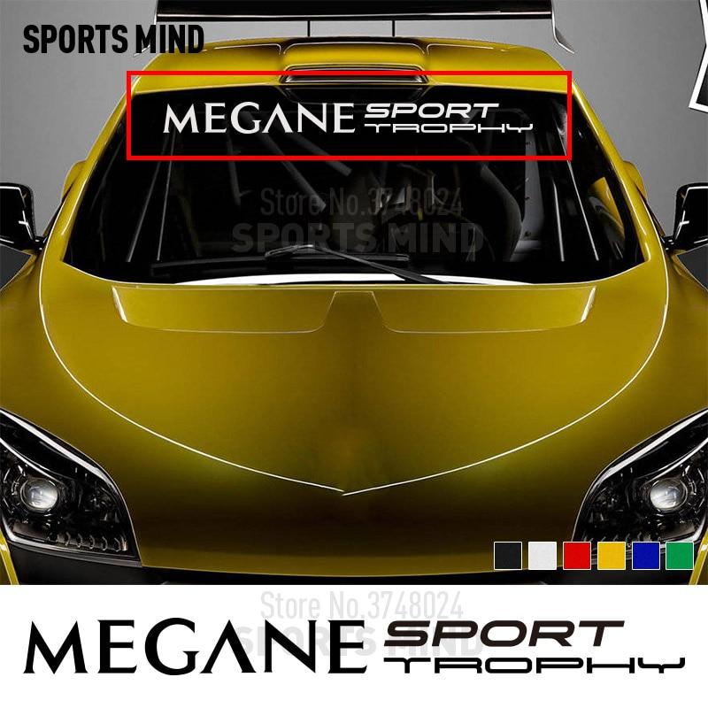 2 x Renault Sport Style Vinyle Stickers Autocollants Clio Megane personnalis/é