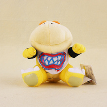 15cm Super Mario Bro Koopa Dragon Plush Dolls Koopa Bowser JR Stuffed Soft Plush Toys Kids