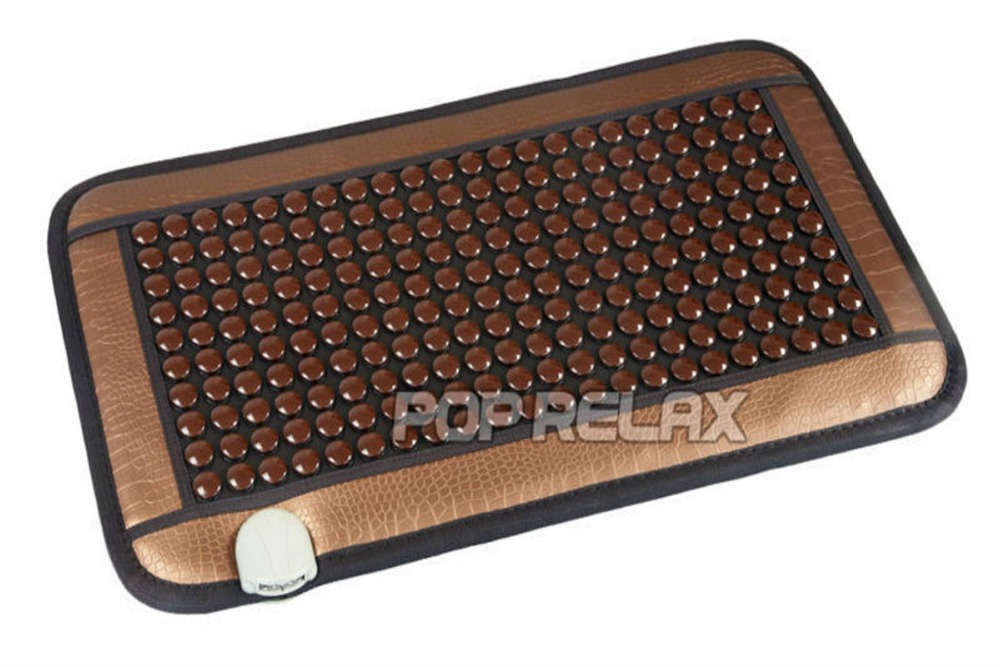 Free shipping POP RELAX heating tourmaline magnetic therapy flat mat PR-C06A Germanium stone physiotherapy pad 45x80cm pop relax negative ion magnetic therapy tourmaline mat pr c06a 55x120cm ce
