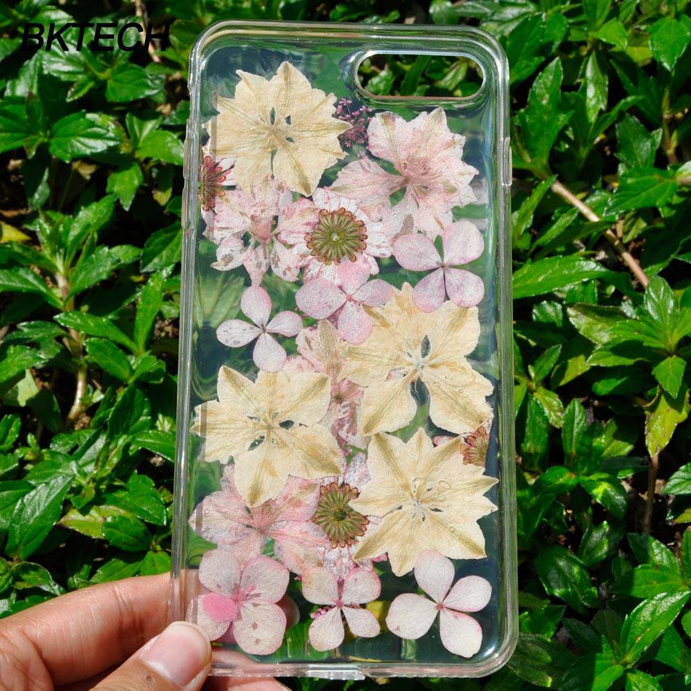 Модні білі та рожеві квіткові чохлики - Аксесуари та запчастини для мобільних телефонів - фото 4