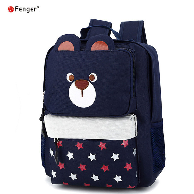 Children Cartoon Bear School Bags Boys Backpack Kid Girl School Backpacks Kids Bolsas mochilas infantis Cute bear Rucksack X432