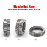 DT bicycle hub gear 18/36/54T bike gear hub suit for X1600 X1700 1501 swiss gear